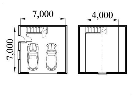 Loft Garage Plans