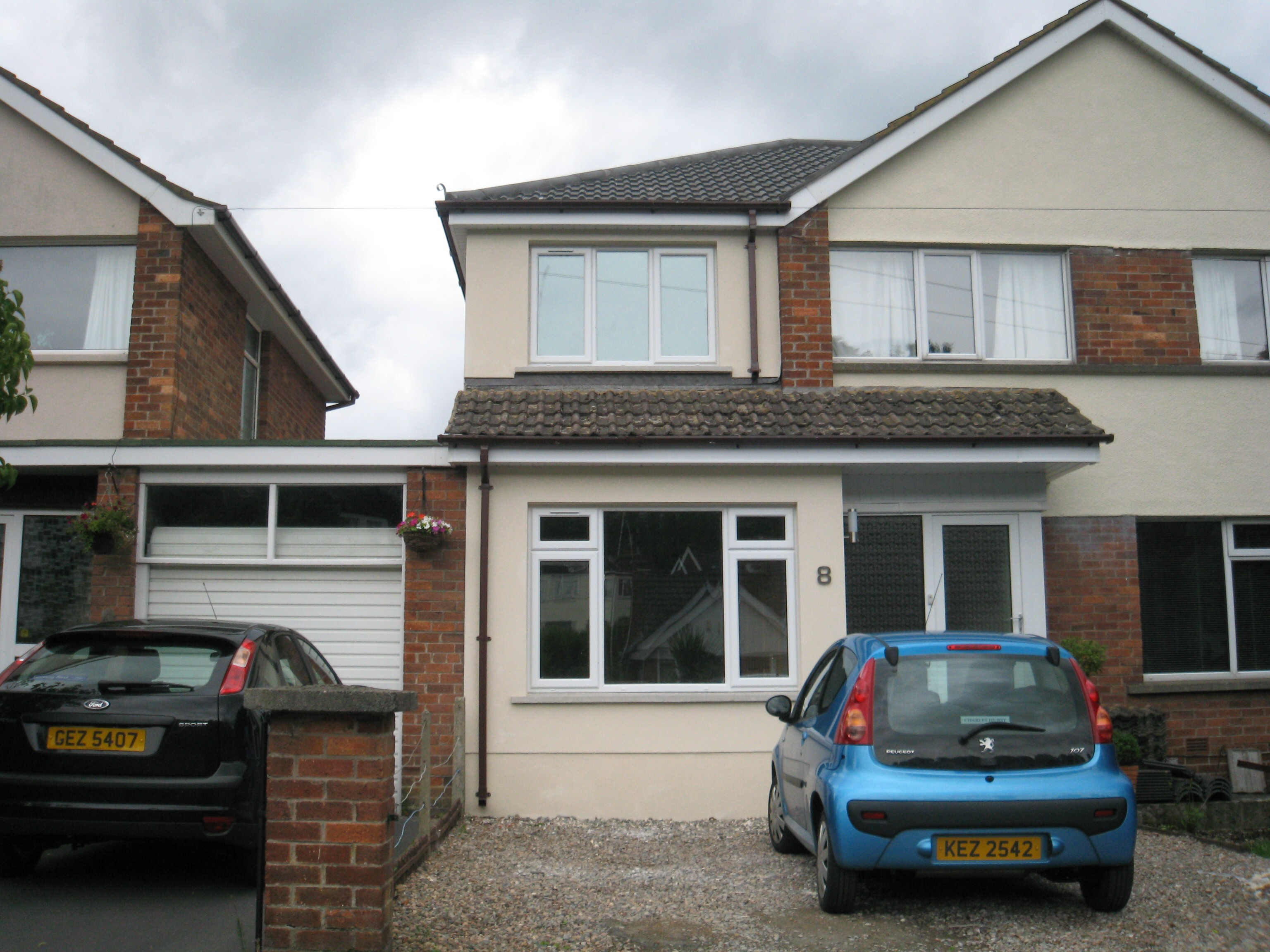 building over a garage ideas - Extension Top Garage Cost